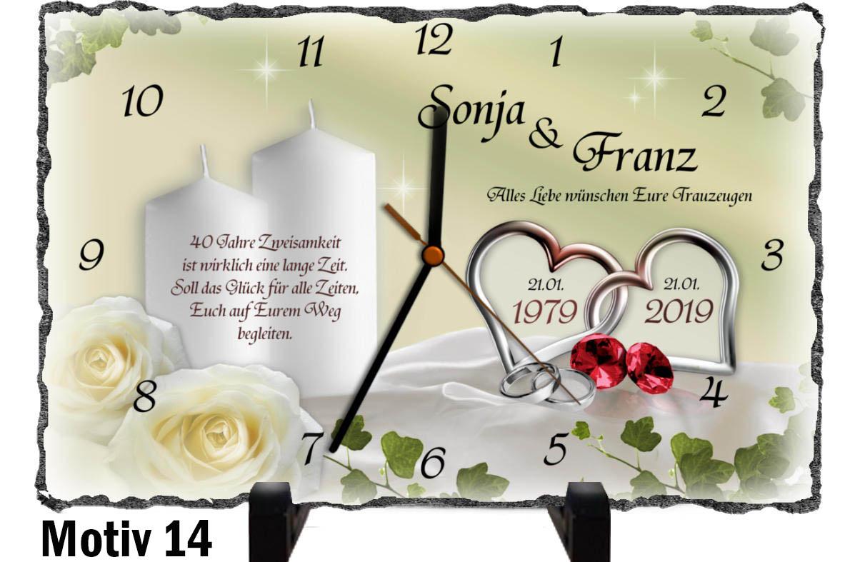 Hochzeitstag 43 Hochzeitsjahre Tabelle