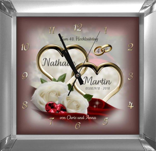 Rubinhochzeit - Geschenk zum 40. Hochzeitstag M2